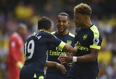 Cazorla Arsenal x Watford (Foto: Reuters)