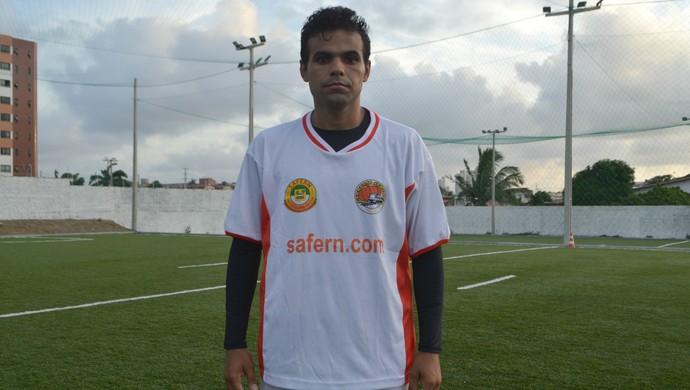 RN - Safern - Fagner, atacante (Foto: Jocaff Souza/GloboEsporte.com)