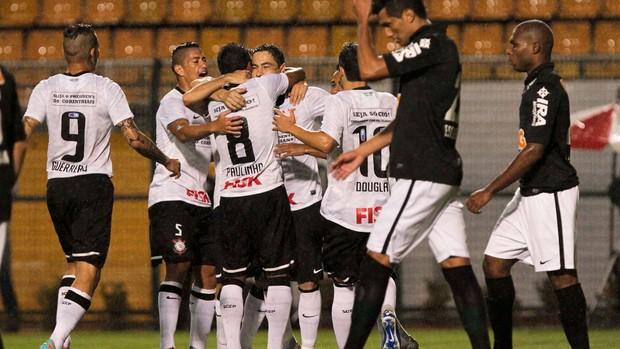 Chicão gol Corinthians (Foto: Ale Cabral / Futura Press)