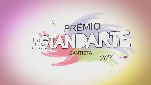 Prêmio Estandarte Santista 2017 (Foto: Reprodução/TV Tribuna)