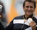 """""""Estar aqui é maior que uma medalha"""", diz Zanardi, prata 15 anos após batida"""