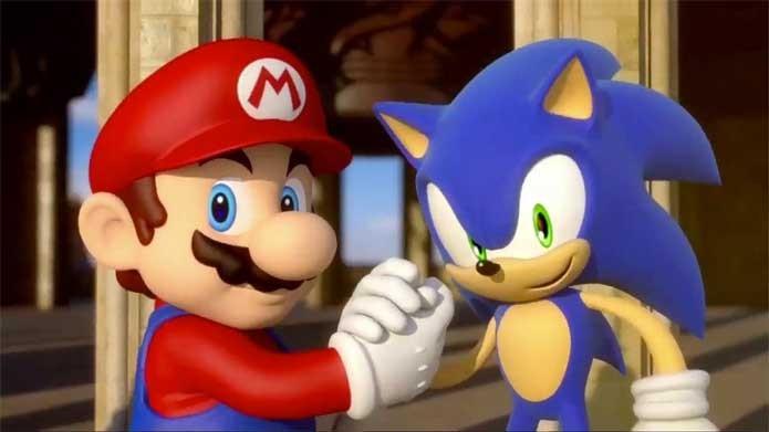 Mario e Sonic sempre se encontram agora em Jogos Olímpicos (Foto: Divulgação/Sega)