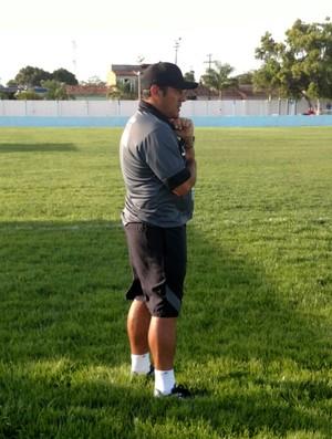 Maurílio Silva, técnico do ASA (Foto: Victor Hugo / Ascom ASA)
