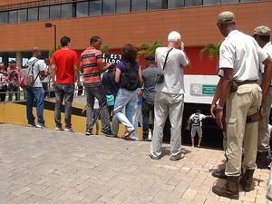 Audiência sobre a Linha Viva em Salvador, Bahia (Foto: Lílian Marques/ G1)