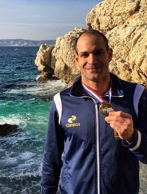 Nicholas Santos, natação, Aberto de Marselha (Foto: Reprodução Facebook)