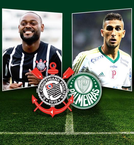 Carrossel Vagner Love e Rafael Marques, Corinthians X Palmeiras