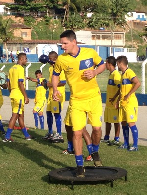 Marcinho Guerreiro, do CSA (Foto: Jota Rufino/GloboEsporte.com)