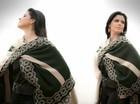 Shana dá dicas para usar roupas típicas gaúchas no dia a dia (Reprodução/RBS TV)