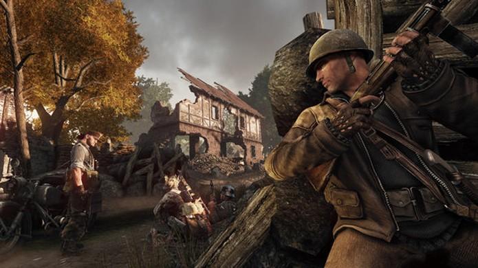 Em Enemy Front é possível eliminar seus inimigos sem que eles percebam sua presença (Foto: shacknews.com)