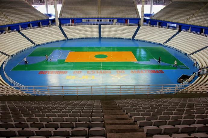 Arena Amadeu Teixeira Manaus (Foto: Divulgação/FVO)