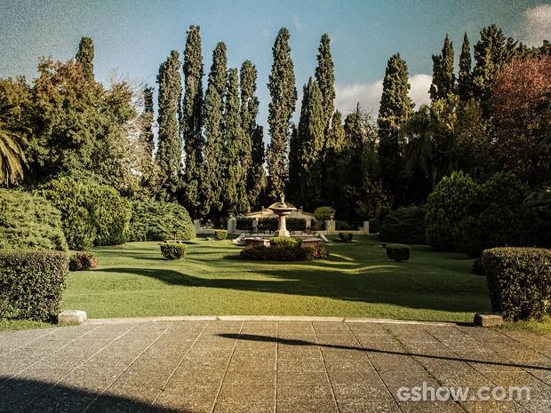 Para onde você olha, mais área verde (Foto: Fábio Rocha / TV Globo)