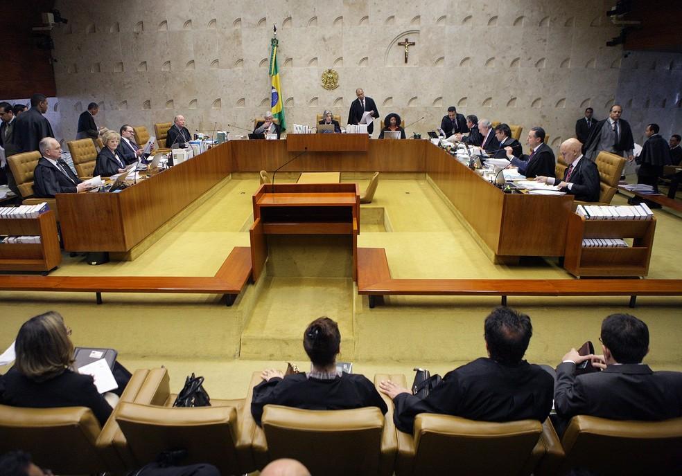 O Supremo Tribunal Federal, que decidiu pela prisão de Rocha Loures (Foto: Carlos Moura/STF)