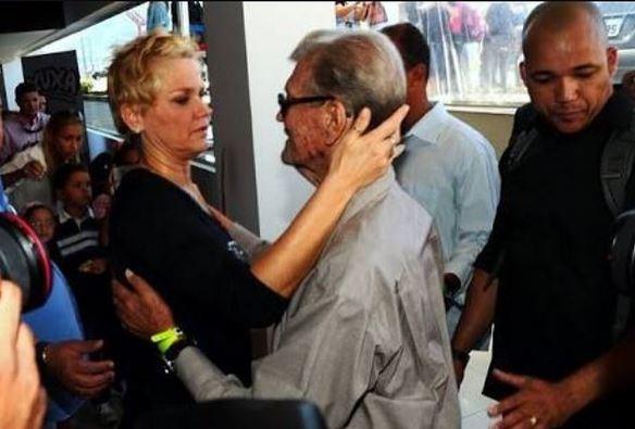 Xuxa e pai (Foto: Instagram / Reprodução)