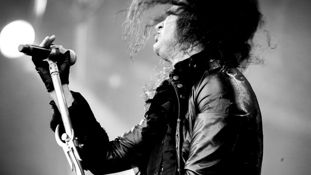 25/09 - SUNSET - Moonspell + Derrick Green (Foto: Thiago Santos)