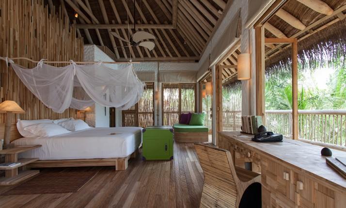 O quarto do resort (Foto: Reprodução)