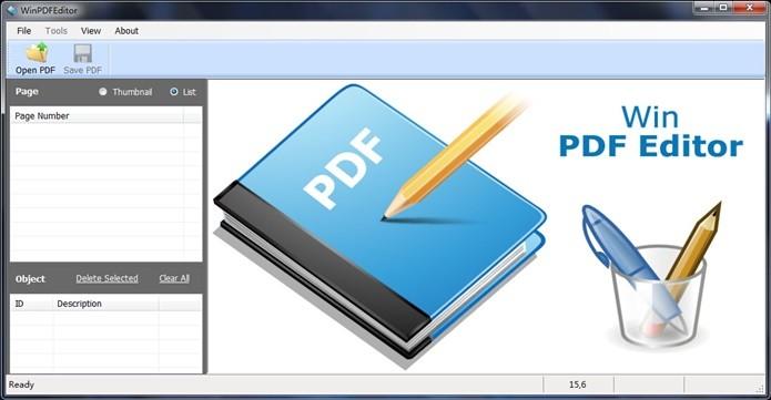 Win PDF Editor é um dos mais completos editores de PDF (Foto: Divulgação/Win PDF Editor)