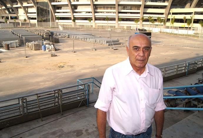 Carlos Alberto Lancetta, presidente da Federação de Atletismo do Rio de Janeiro (Foto: Leonardo Filipo)