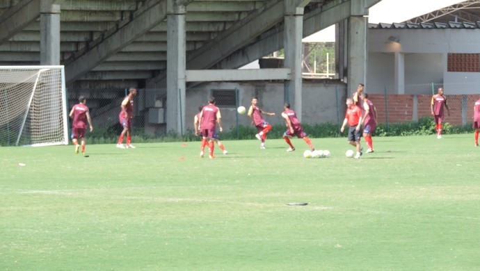 Ituano - treino 2014 visando Paulistão (Foto: Emilio Botta)