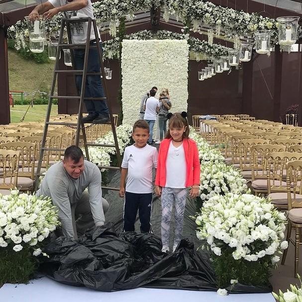 Rafa Justus se prepara para casamento da mãe (Foto: Instagram/Reprodução)