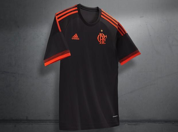 Terceira camisa Flamengo (Foto  Divulgação Adidas) 2739ae90a27fe