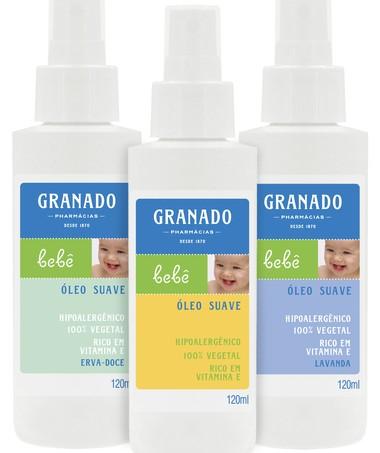 Óleo suave: produto indispensável para massagear o bebê (Foto: Divulgação)