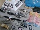 Após assalto a joalheria, grupo é detido em Santa Juliana, MG