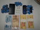 Jovem é preso em operação contra tráfico de drogas em Delta, MG