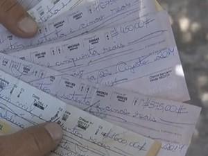 Resultado de imagem para cheques devolvidos