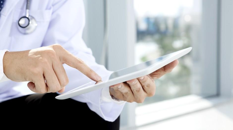 medico; tablet; tecnologia; saude (Foto: ThinkStock)