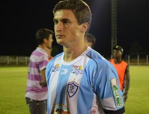 Rafael Pato, atacante do Ji-Paraná (Foto: Hudson Pimentel)