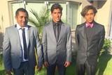 Surfistas alinhados: atletas mostram looks para casamento de Mineirinho