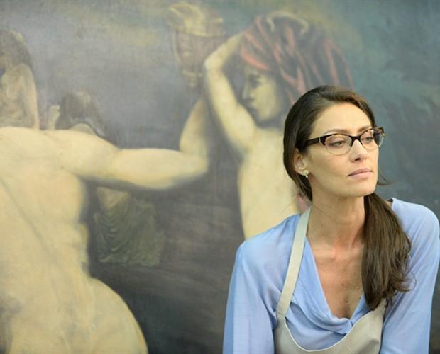 Maria Fernanda Cândido interpreta a personagem Marília em Felizes para Sempre (Foto: Zé Paulo Cardeal / TV Globo)