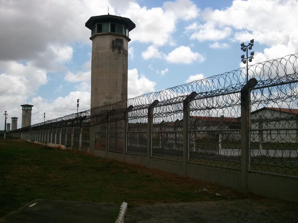 Complexo Penitenciário D. Manoel Carvalho (Copemcan) em São Cristóvão (SE) (Foto: Denise Gomes/G1 SE)