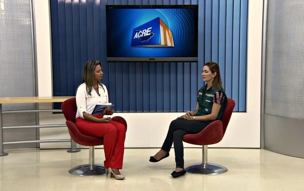 coordenadora (Foto: Acre TV)