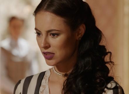 Melissa descobre segredo de Severa