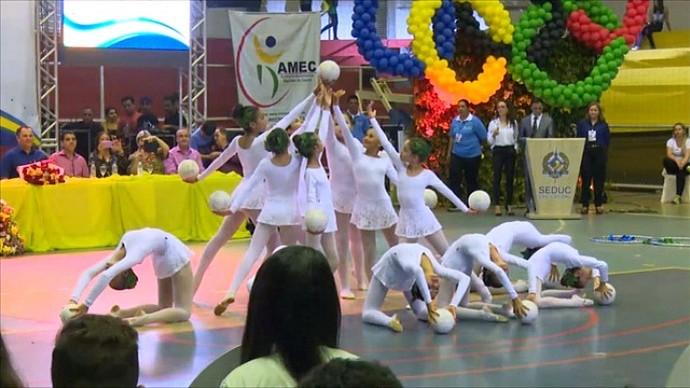 Abertura dos Jogos Escolares em Cacoal (Foto: Reprodução/ Rede Amazônica RO)
