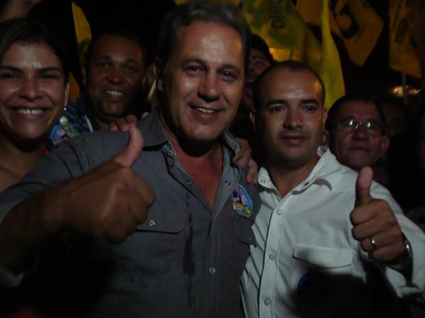 Dr. Antônio é eleito prefeito de São João do Paraíso  (Foto: Michelly Oda)