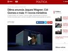 Veja as notícias sobre os episódios citados por Temer na carta a Dilma