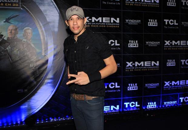 Kiko (KLB) na pré-estreia de X-Men em SP (Foto: Celso Tavares / Ego)