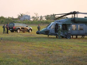 FAB inicia resgate dos corpos de vítimas de queda de avião no PA (Foto:  Wesley Costa/ Divulgação)