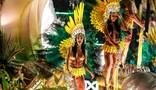 Mocidade Alegre exalta o samba com paradões e força de Ayo (Rodrigo Gorosito/G1)