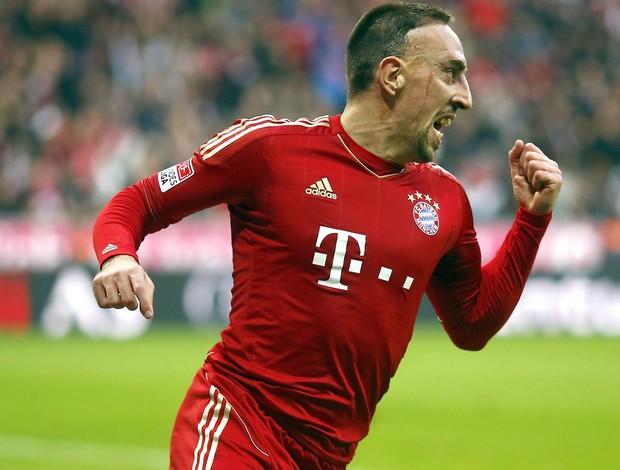 Ribery, Bayern de Munique e Frankfurt (Foto: Agência Reuters)