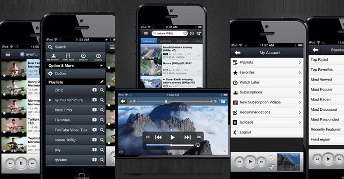 Com o FoxTube você organize e asiste seus vídeos do YouTube sem gargalos (Foto: Divulgação/AppStore)
