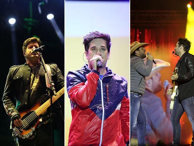 As bandas RPM e Jota Quest, além da dupla Fernando e Sorocaba encerraram o FIB 2015 (Foto: Laécio Lacerda)