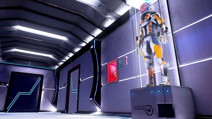 Loading Human tem cenários interativos (Foto: Divulgação/Untold Games)