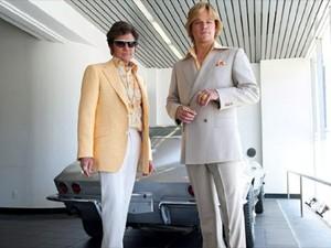 Michael Douglas e Matt Damon em cena de 'Behind the Candelabra', de Steven Soderbergh (Foto: Divulgação)