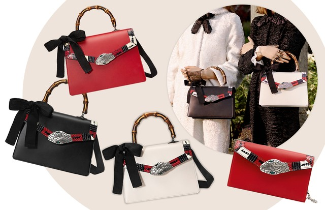 Gucci: as bolsas Lilith (Foto: Arte Vogue Online)