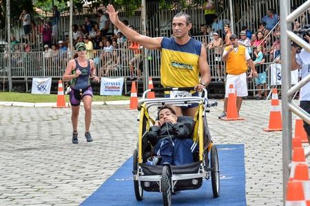 José Rosa das Neves, triatleta (Foto: Rita Oliveira/Divulgação Sesc)