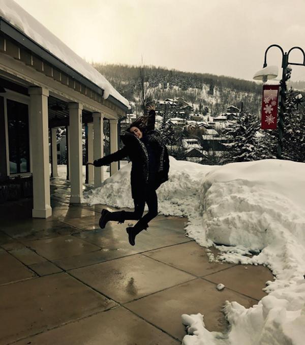 A atriz Lily Collins (Foto: Instagram)