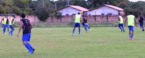 São Raimundo-RR treino Série D (Foto: Tércio Neto/GloboEsporte.com)